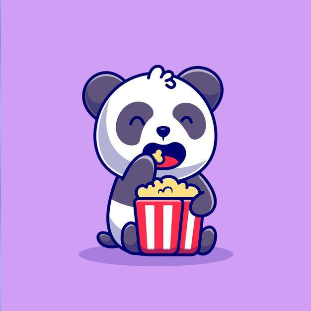 cute-panda-eating-popcorn-cartoon-icon-illustration-animal-food-icon-concept-isolated-flat-cartoon-style_138676-2562